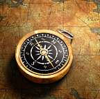 Compass for physical and astral travel