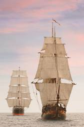 Early navigation in tall ships